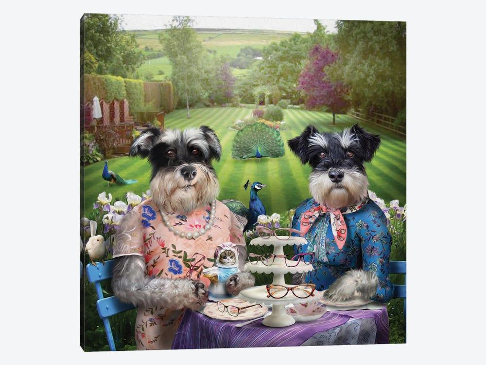 Doris & Patsy by Pompous Pets 1-piece Canvas Print