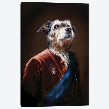 Duke Canvas Print #PMP37} by Pompous Pets Canvas Art