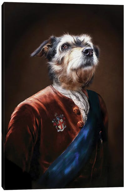 Duke Canvas Art Print