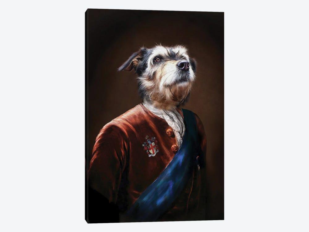 Duke by Pompous Pets 1-piece Canvas Wall Art