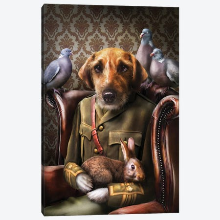 Dylan Canvas Print #PMP38} by Pompous Pets Canvas Art Print