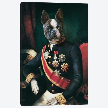 Eiffle Canvas Print #PMP39} by Pompous Pets Art Print