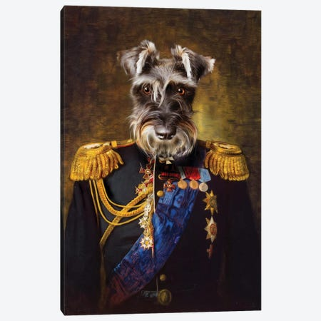 Elliot Canvas Print #PMP41} by Pompous Pets Canvas Art