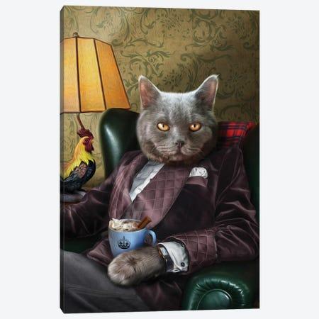 Finlay Canvas Print #PMP43} by Pompous Pets Canvas Art