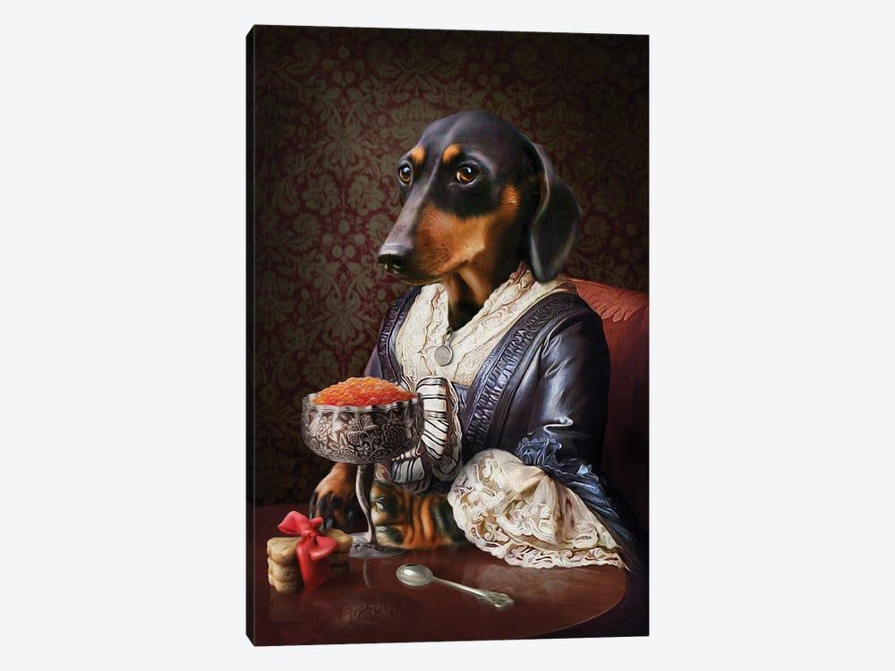 Frankie by Pompous Pets 1-piece Art Print