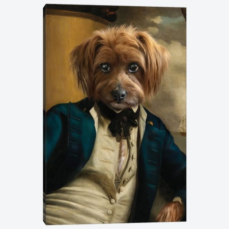 Franklin II Canvas Print #PMP46} by Pompous Pets Canvas Print