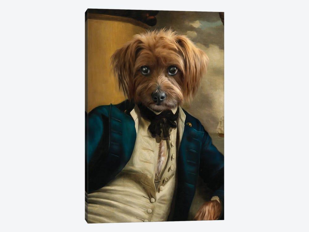 Franklin II by Pompous Pets 1-piece Canvas Artwork