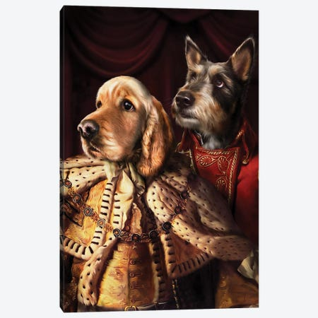 Frodo & Jagger Canvas Print #PMP47} by Pompous Pets Canvas Print