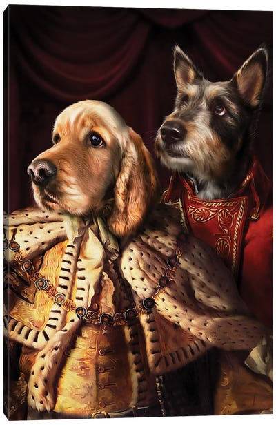Frodo & Jagger Canvas Art Print