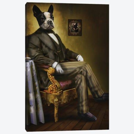 Grandpa Canvas Print #PMP50} by Pompous Pets Canvas Art Print