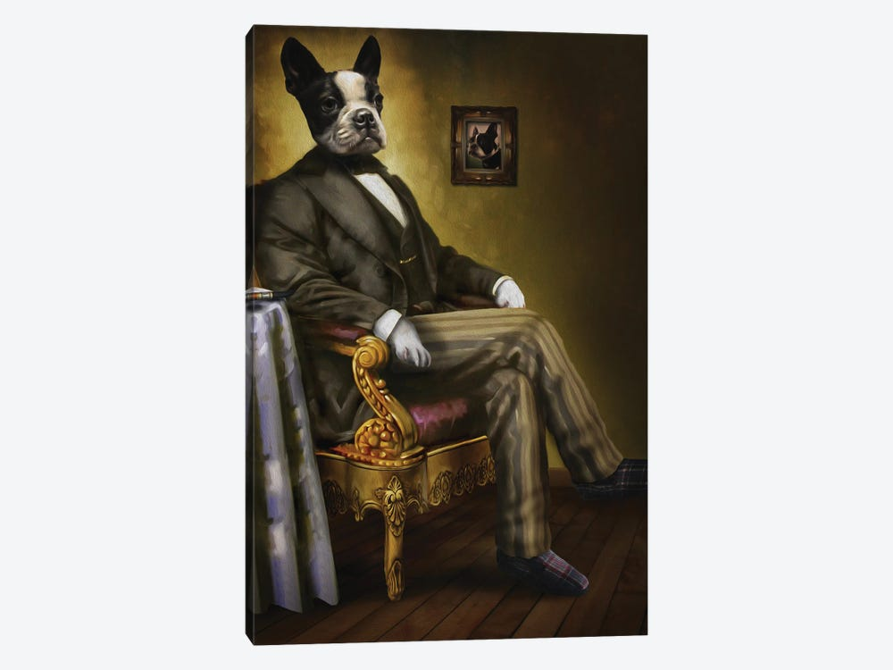 Grandpa by Pompous Pets 1-piece Art Print