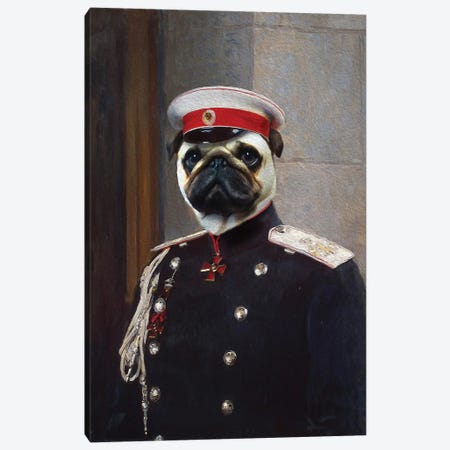 Harry General Canvas Print #PMP55} by Pompous Pets Canvas Wall Art