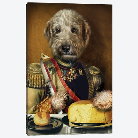 Hugo Canvas Print #PMP59} by Pompous Pets Art Print