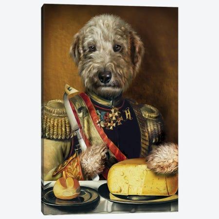 Hugo Canvas Print #PMP59} by Pompous Pets Art Print