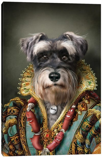 Bailey Canvas Art Print