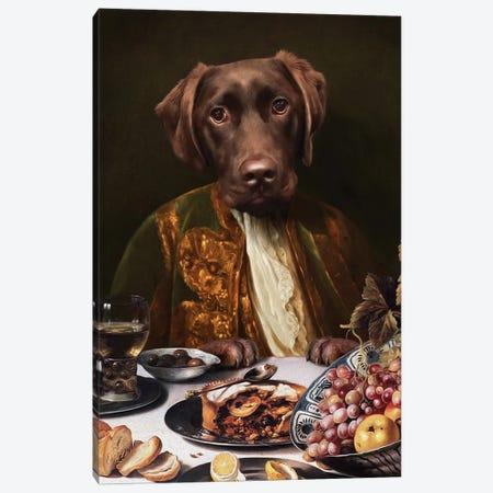 Humphrey Canvas Print #PMP60} by Pompous Pets Canvas Wall Art