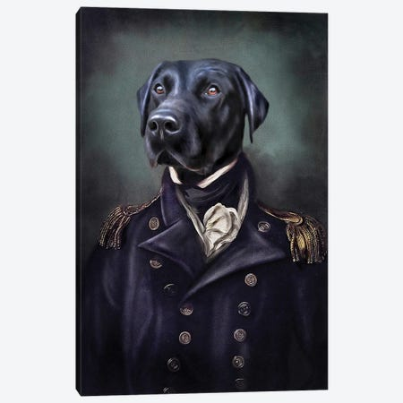 Jake Canvas Print #PMP62} by Pompous Pets Canvas Art