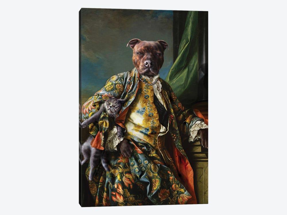 James by Pompous Pets 1-piece Canvas Print