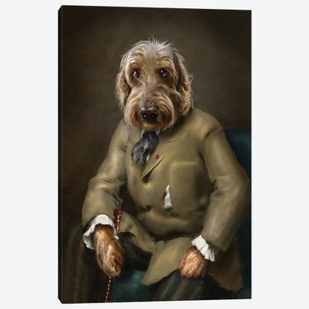 Leo Canvas Print #PMP66} by Pompous Pets Art Print