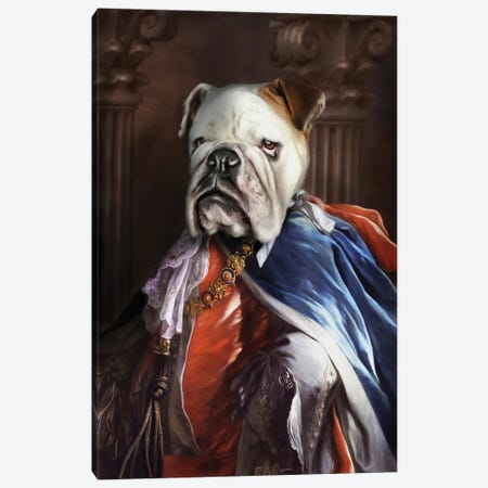 Lucius Canvas Print #PMP70} by Pompous Pets Canvas Art Print