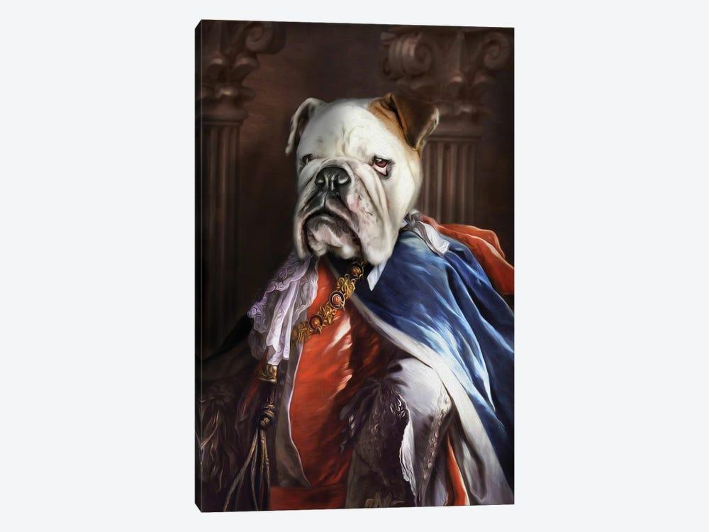 Lucius by Pompous Pets 1-piece Canvas Print