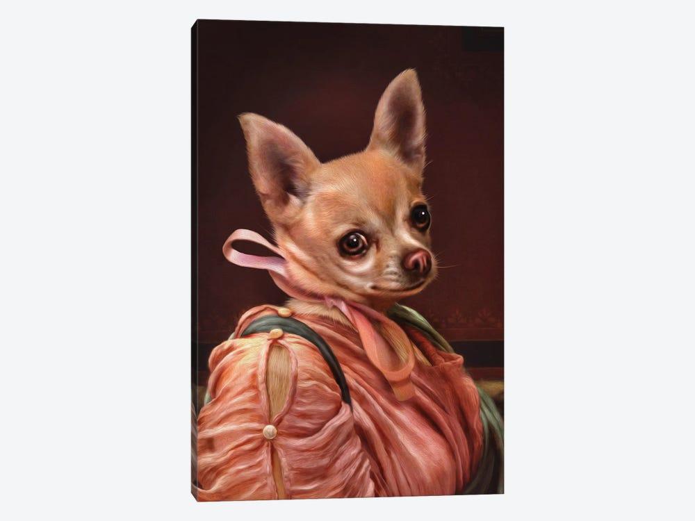 Mabel by Pompous Pets 1-piece Canvas Print