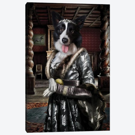 Mini Keller Canvas Print #PMP77} by Pompous Pets Canvas Art