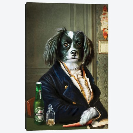 MJ Canvas Print #PMP78} by Pompous Pets Art Print