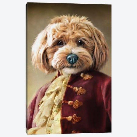 Ollie II Canvas Print #PMP88} by Pompous Pets Canvas Artwork