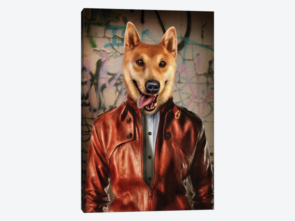 Ponzu by Pompous Pets 1-piece Canvas Art Print