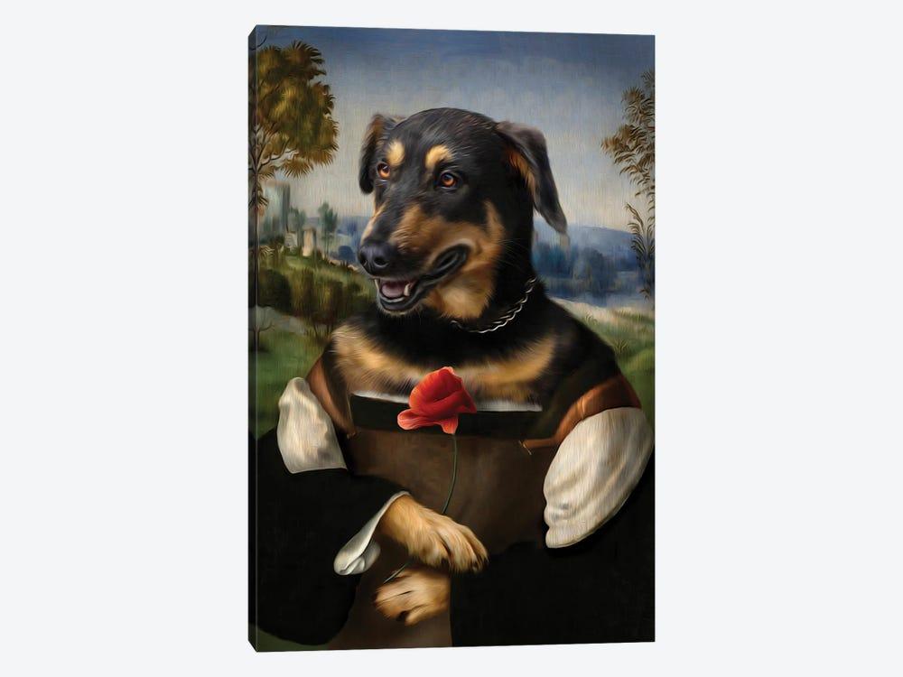 Poppy by Pompous Pets 1-piece Canvas Artwork