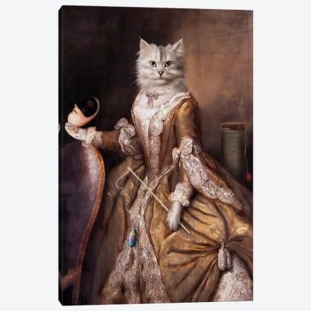 Pussy Canvas Print #PMP98} by Pompous Pets Canvas Print
