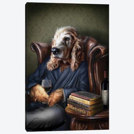 Barney Canvas Print #PMP9} by Pompous Pets Canvas Art