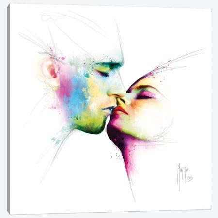 Le Baiser Canvas Print #PMU100} by Patrice Murciano Art Print
