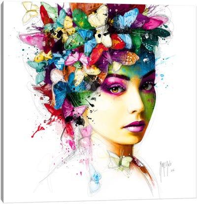 L'effet Papillon Canvas Art Print