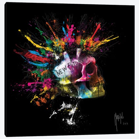 New Future Canvas Print #PMU111} by Patrice Murciano Canvas Artwork