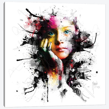 No War For Our Children Canvas Print #PMU112} by Patrice Murciano Canvas Artwork