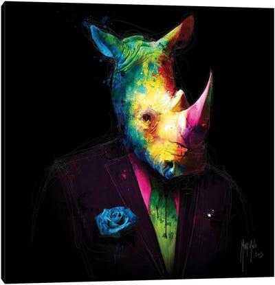 Oncle Rhino Canvas Art Print