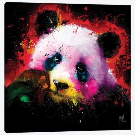 Panda Pop Canvas Print #PMU115} by Patrice Murciano Art Print