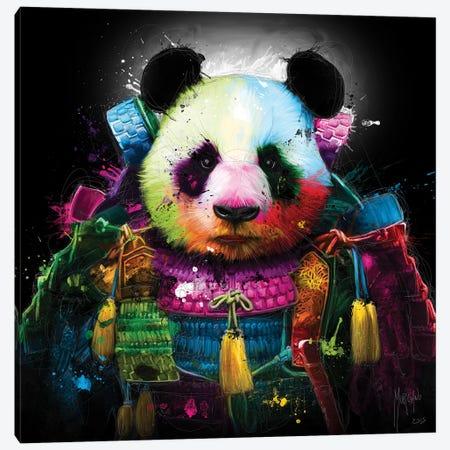 Panda Samurai Canvas Print #PMU116} by Patrice Murciano Canvas Print