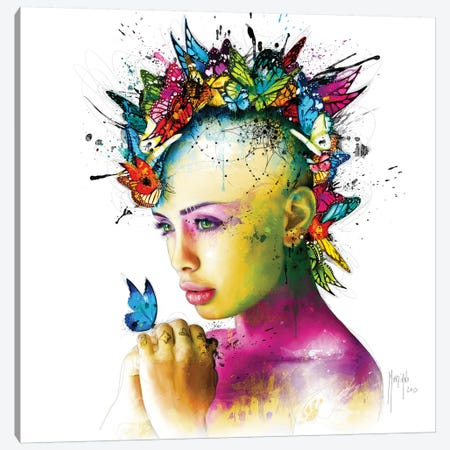 Power Of Love Canvas Print #PMU119} by Patrice Murciano Canvas Art