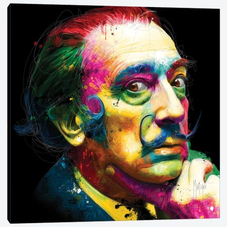Dali Canvas Print #PMU11} by Patrice Murciano Canvas Art