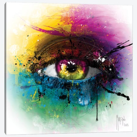 Requiem For A Dream Canvas Print #PMU122} by Patrice Murciano Art Print