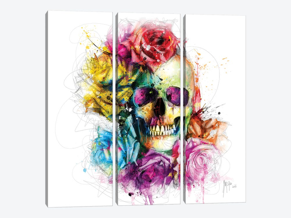 Dead Or Alive by Patrice Murciano 3-piece Canvas Print