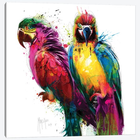Tropical Colors Canvas Print #PMU133} by Patrice Murciano Canvas Art
