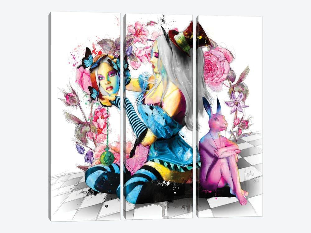 Alice In Wonderland by Patrice Murciano 3-piece Art Print