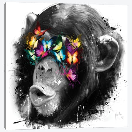 Don't See Canvas Print #PMU14} by Patrice Murciano Art Print