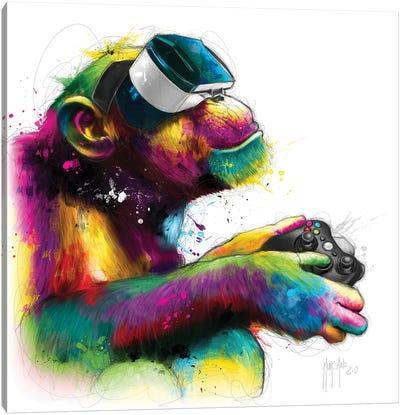 Homo Gamer Canvas Art Print