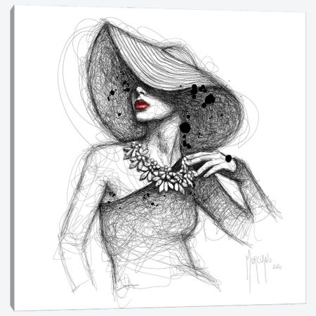 La Demoiselle De Rochefort Canvas Print #PMU157} by Patrice Murciano Canvas Print