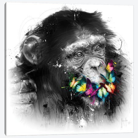 Don't Speak Canvas Print #PMU15} by Patrice Murciano Canvas Print